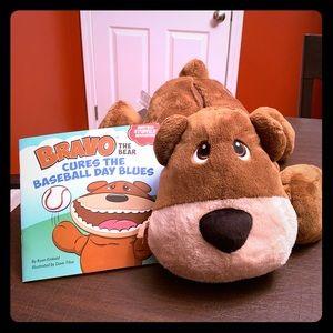 Other - Rare Bravo the Bear Stuffie